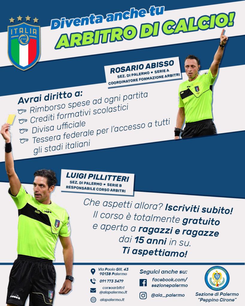 Locandina Corso Arbitri 2018/19