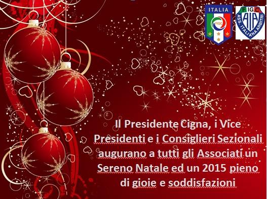 Auguri Di Buon Natale Ufficiali.Buon Natale E Felice Anno Nuovo Sito Ufficiale Della Sezione